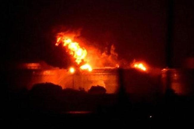 Srikakulam, Shot circuit, Flywood Shop fire, Vizag KGH, Rajam main Road