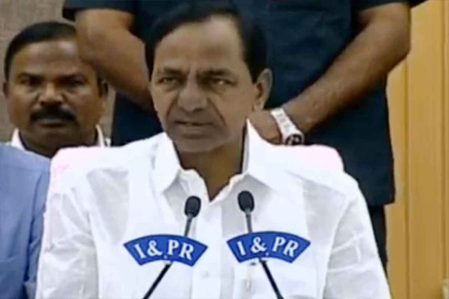 KCR, Opposition parties, BCs allegations, Press Meet, BJP deposit, BC reservations