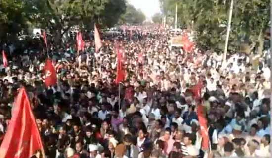 farmers rally from nasik to mumbai
