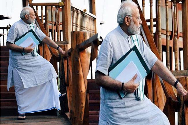 PM Narendra Modi, Narendra modi new look, Narendra modi dressing style, PM Modi new look viral on Instagram