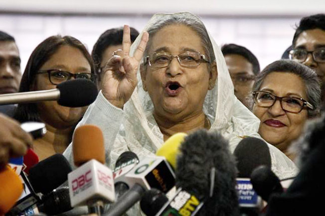 Bangladesh Elections, Sheikh Hasina, Once Again in Power in Bangaldesh Elections