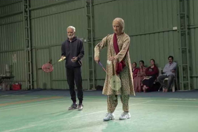 Badminton stars, Ashwini Kidambi Srikanth, Old people, Secuendrabad Badminton court