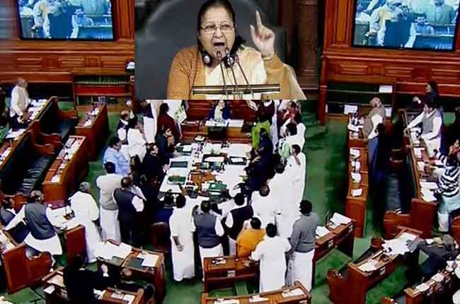 21 Mp's TDP, 24 AIADMK MPs Suspended From Lok Sabha | 10TV