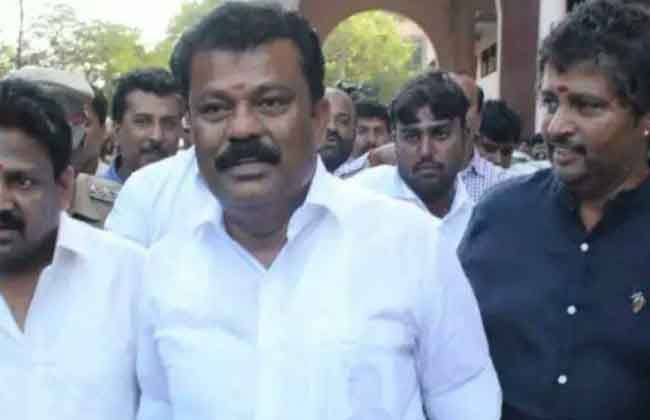 AIADMK minister jailed for three years