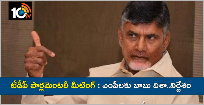 AP TDP Parliamentary Party Meeting In Amaravathi