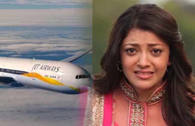 Actress Kajal Agarwal Fires on Jet AirWays -10TV