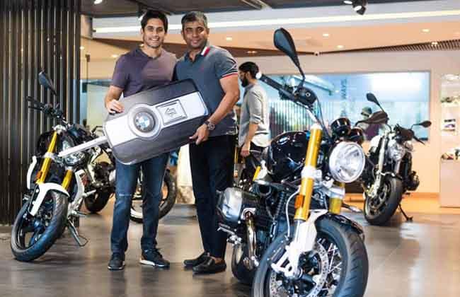 Akkineni Naga Chaitanya Bought New BMW R Nine T Bike -10TV