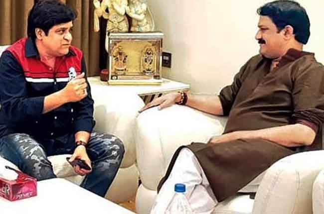 Comedian Ali Meets Andhra Pradesh State Minister TDP Party Leader Ganta Srinivasa Rao | 10TV