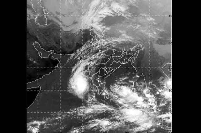 Depression Over Bay Andaman
