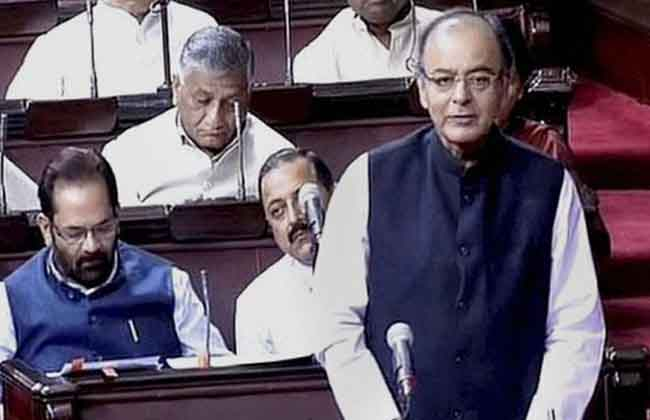 Arun Jaitley On EBC Reservations Bill