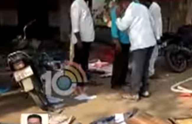 Congress Activists Attack Congress Office at Koyagudem in Bhadradri Kothagudem