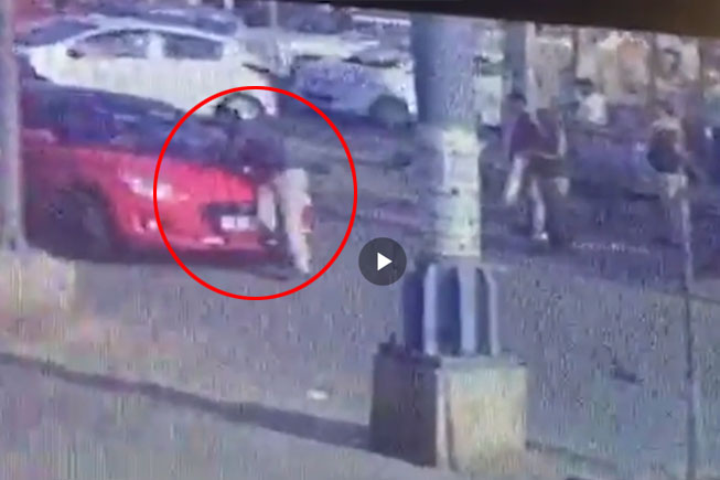 Caught on cam: Car drags traffic cop on bonnet in Gurugram