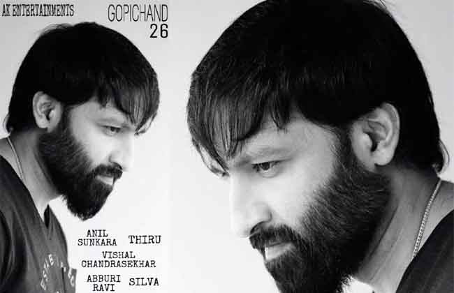 Gopichand New Movie Shooting Starts from Feb 4th 2019-10TV