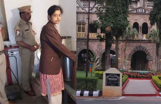 woman  Judge, Aishwarya Death In Guntur district Narsarao per court