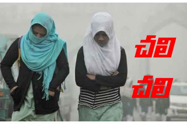 Cold Wave In Hyderabad