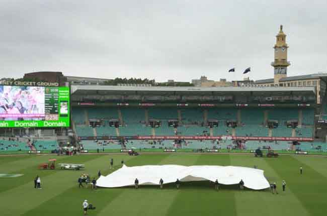 Match delayed by rain 4th Test, India tour of Australia at Sydney  | 10TV