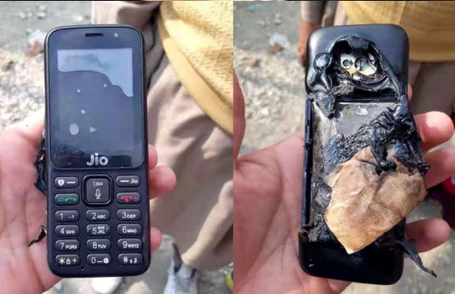 Jio Phone Detonated