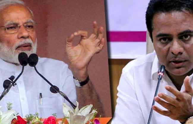 KTR Fires On Modi Govt