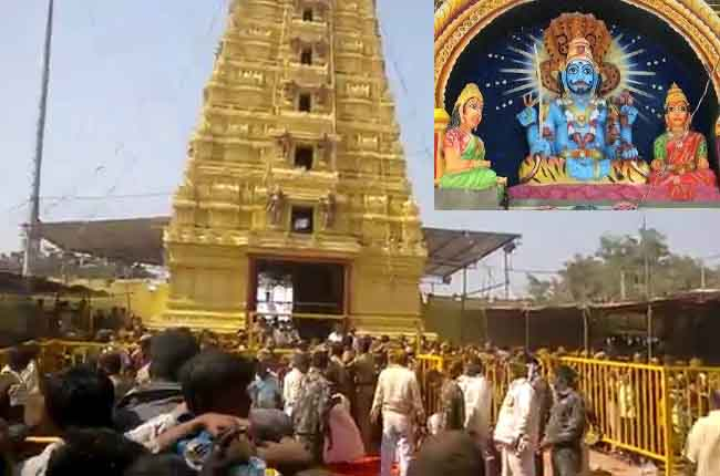 Komuravelli Mallanna Temple Route | komuravelli mallikarjuna swamy brahmotsavam 20th January
