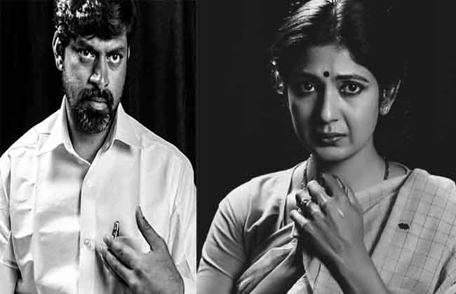 Lakshmi Parvathi and Chandrababu Naidu First Looks From  Lakshmi's NTR-10TV
