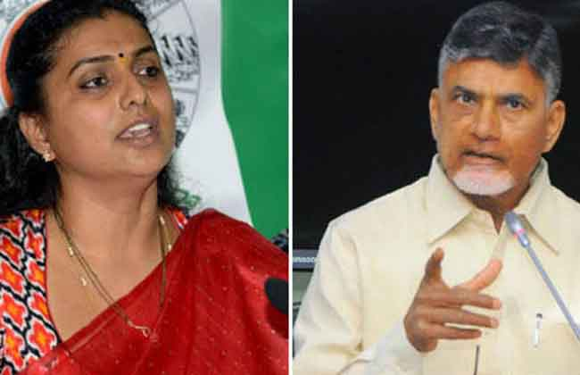 MLA Roja Fires On CM Chandrababu