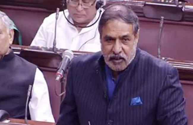 MP Anand Sharma Slams BJP