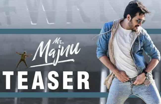 Akhil Akkineni's Mr. Majnu - Official Teaser -10TV