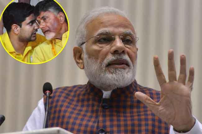 Narendra Modi Fire ON Chandrababu Naidu | 10TV