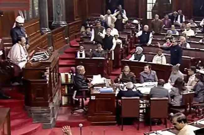 Opposition protests extension of Rajya Sabha | Rajya Sabha Live | 10TV