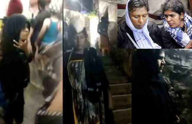 What is the womens  entry in to the Ayyappa temple?