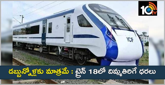Shocking News, Train 18 fares