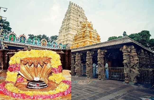 Srisailam Temple Record Assistant Laxminarayana suspended