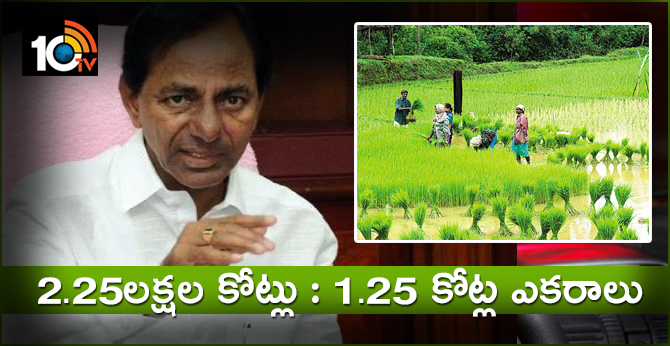 Telangana CM KCR Review On Irrigation Projects