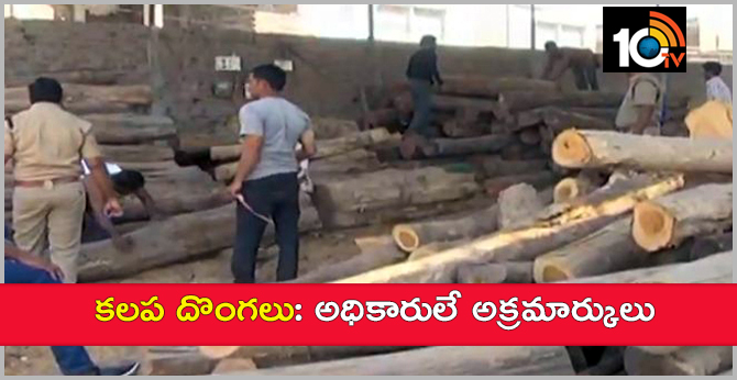 Timber smuggling : Officials are culprits
