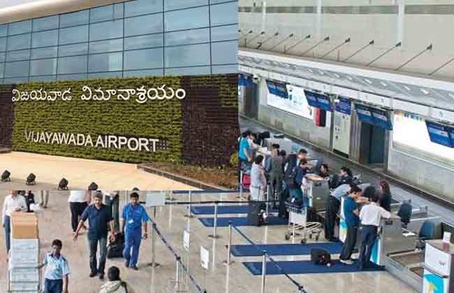 Vijayawada Airport with international standards