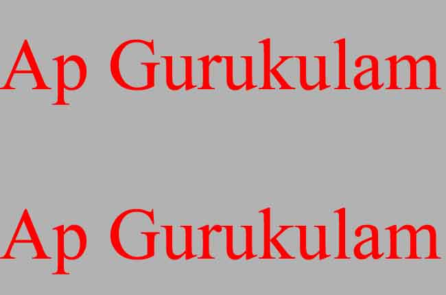 AP Gurukula Notification 2019