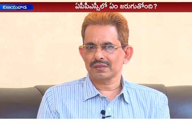 APPSC Chairman Uday Bhaskar Face To Face Over Jobs | 10TV