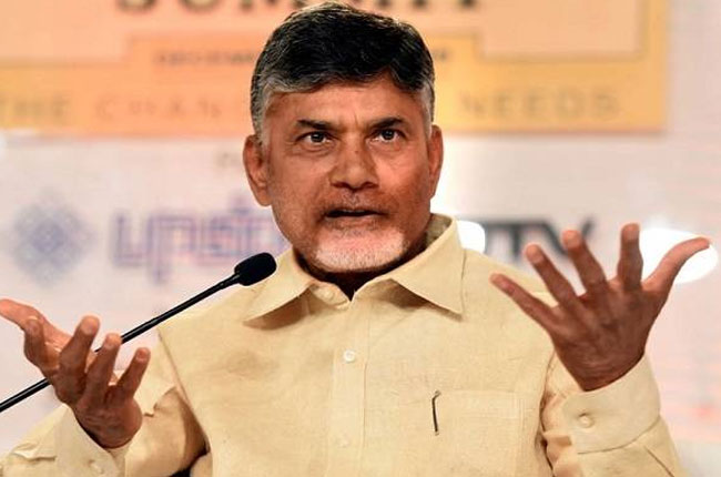 AP CM Chandrababu Fire on BJP and YCP