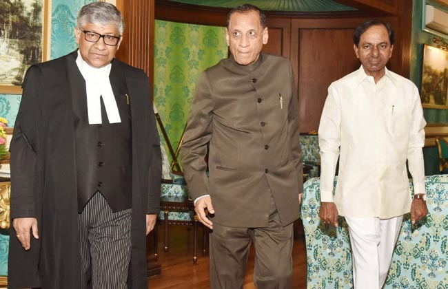Radhakrishnan sworn in Chief Justice of Hyderabad High Court