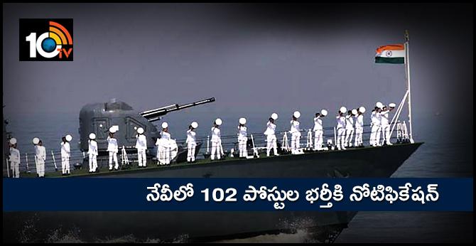 102 navy jobs