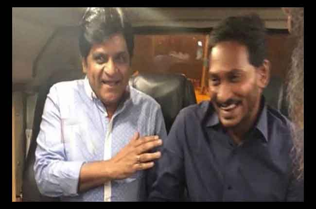 Tollywood Comedy Actor Ali Join In YCP | 10TV