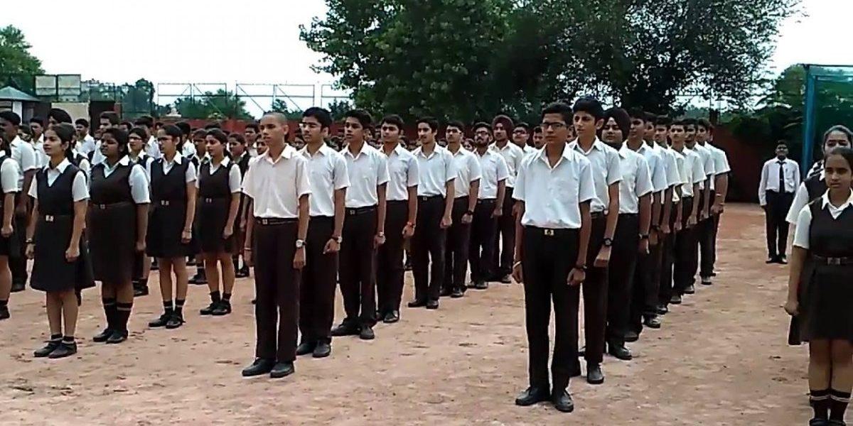 jai bharat jai hind in school attendance