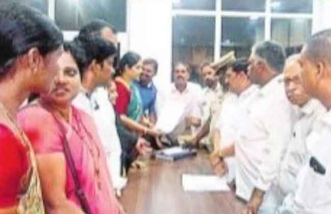 kkd bjp leader complaint against cm