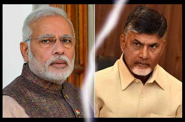 Modi Vs Babu Clash Between CM Chandrababu Naidu And PM Modi | 10TV