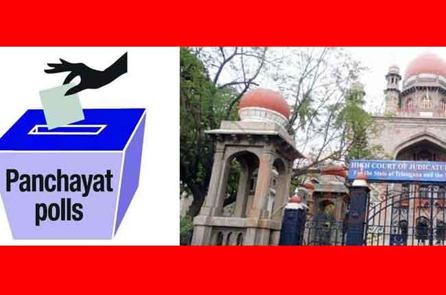 Telangana High Court Gree Signal Grampanchayat Election 2019 | 10TV