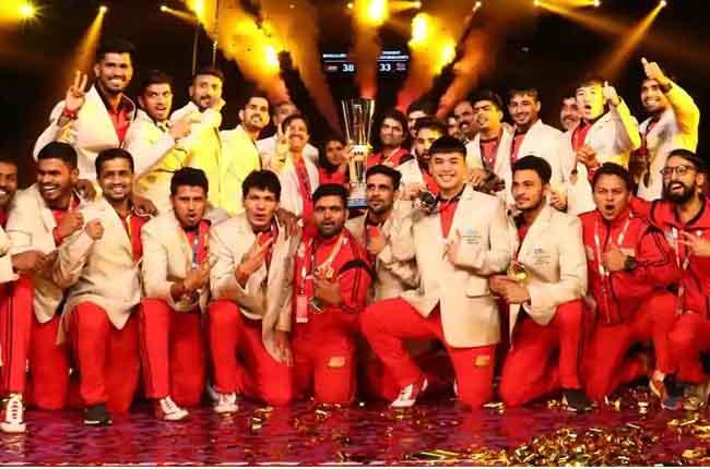 Pro kabaddi 6 Final Bengaluru bulls VS Gujarat Fortunegiants | 10TV