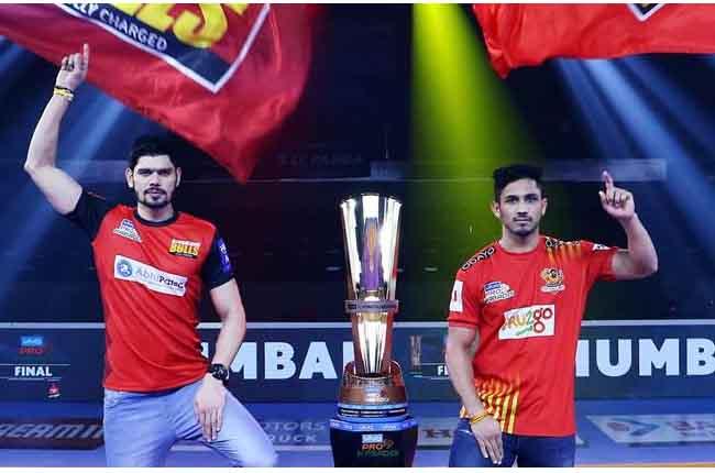 Pro Kabaddi Season 6 Final Match 2018 | Gujarat Fortunegiants VS Bengaluru Bulls | 10TV