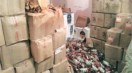 Rats, Drinking Beer, 1000 Liters, Police