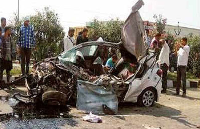 road accident in america, 3 hyderabad shot dead