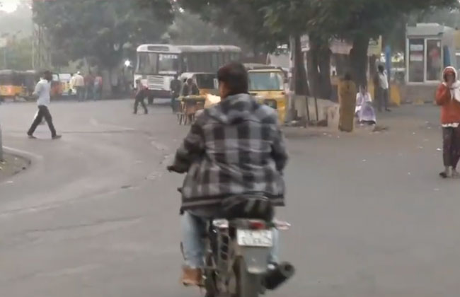 no Strike effect on Telangana